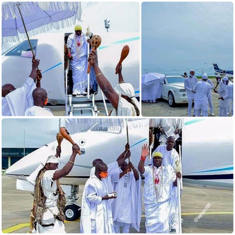 OLOJO FESTIVAL COMMENCES AS OONI ENTERS A SEVEN DAYS SECLUSION PROCESS