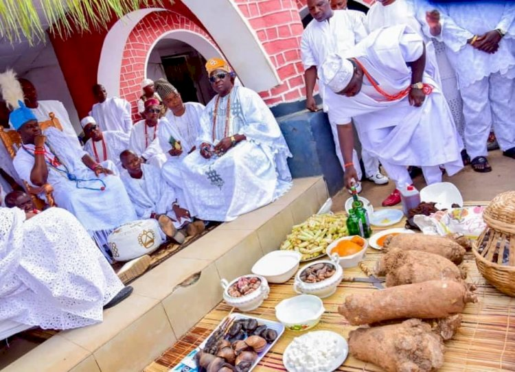 OONI NAMED THE NEW IFE PRINCE AFTER HIS PREFERRED & FOREMOST PREDECESSOR